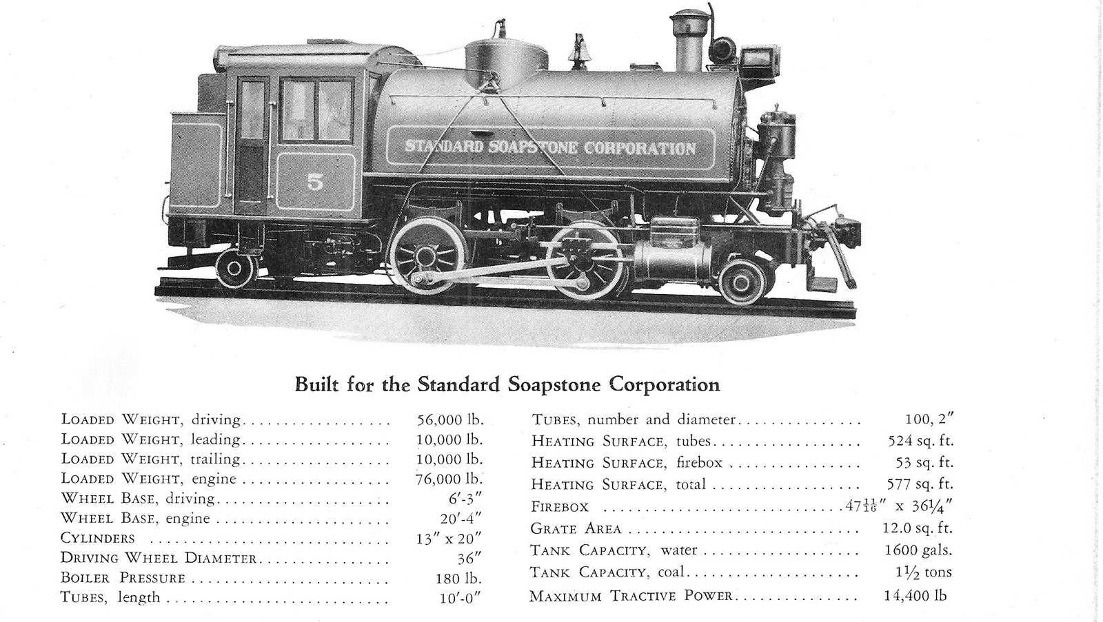 Standard Soapstone 2 4 2 Columbian Locomotives In The Usa
