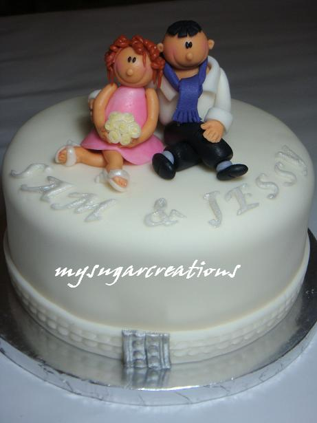 Sam Wedding Cake.My Sugar Creations 001943746 M Sam Jessy S Wedding Cake