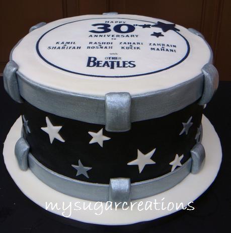 My Sugar Creations 001943746 M Drum Cake