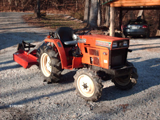 For Sale Hinomoto 4 Wd Compact Tractor Amp Bush Hog