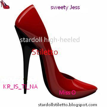 Stiletto Heeled High High Heeled Stardoll Stardoll Stiletto Stardoll 0nvmN8wO