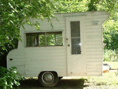 kattz cottage vintage retro cute travel trailer for sale. Black Bedroom Furniture Sets. Home Design Ideas