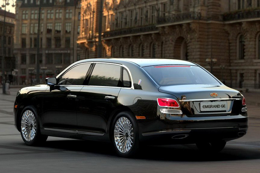 Rolls Royce Limo >> World Concept Cars: China's Geely Updates its GE Rolls ...