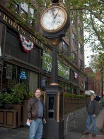 Three Minutes to Nine: Seattle Clock Walk