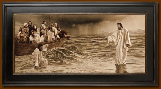 Baptism of jesus christ by john the baptist - 1 7