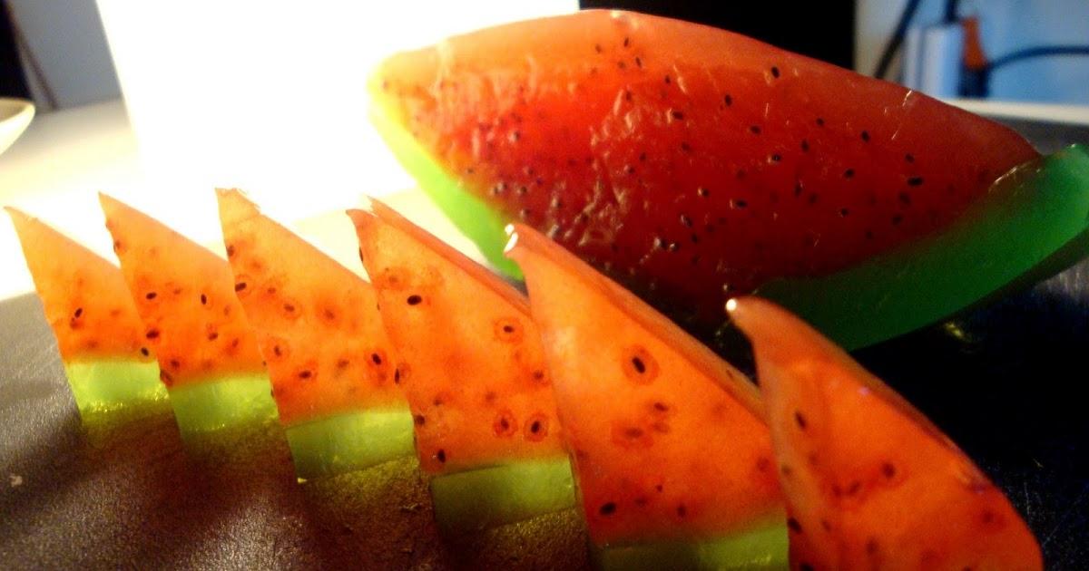 Watermelon Jelly Cake Recipe: D O M O !: Watermelon Jelly