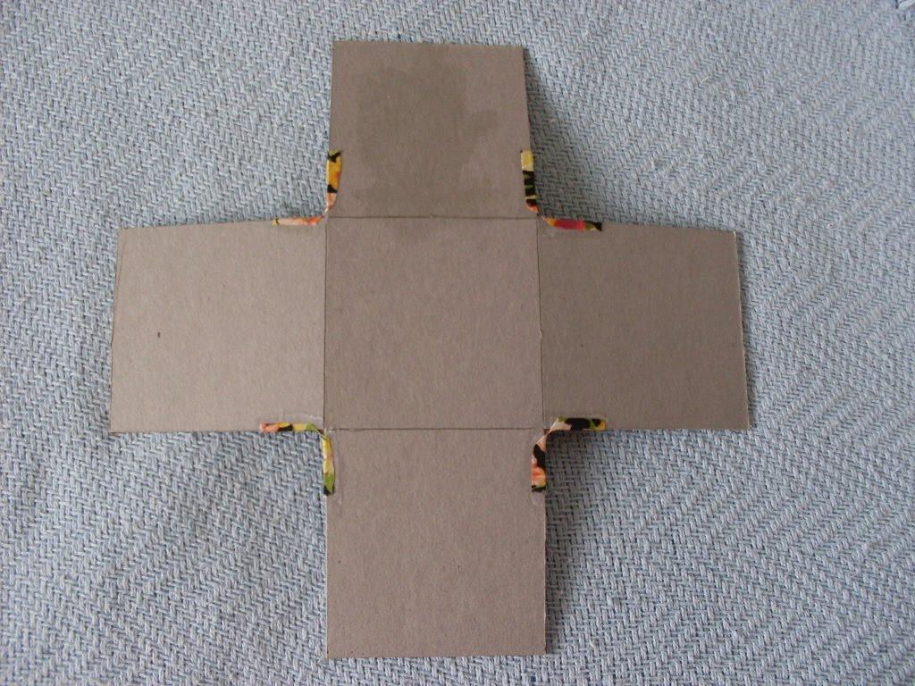 Artesanato Tecido ~ Caixa de Costura Passo a Passo