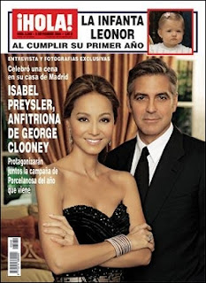 Filipino Cultured: Isabel Preysler and George Clooney
