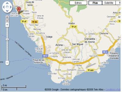 Mapa De Tenerife Sur.Espacioso Piso En Venta En Tenerife Sur Playa De San Juan