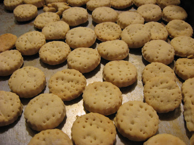 homemade oyster crackers 2 c flour 1 2 pkg 1