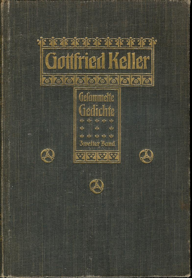 Kulturtempel 2 Ein Gedicht Von Gottfried Keller Abendlied