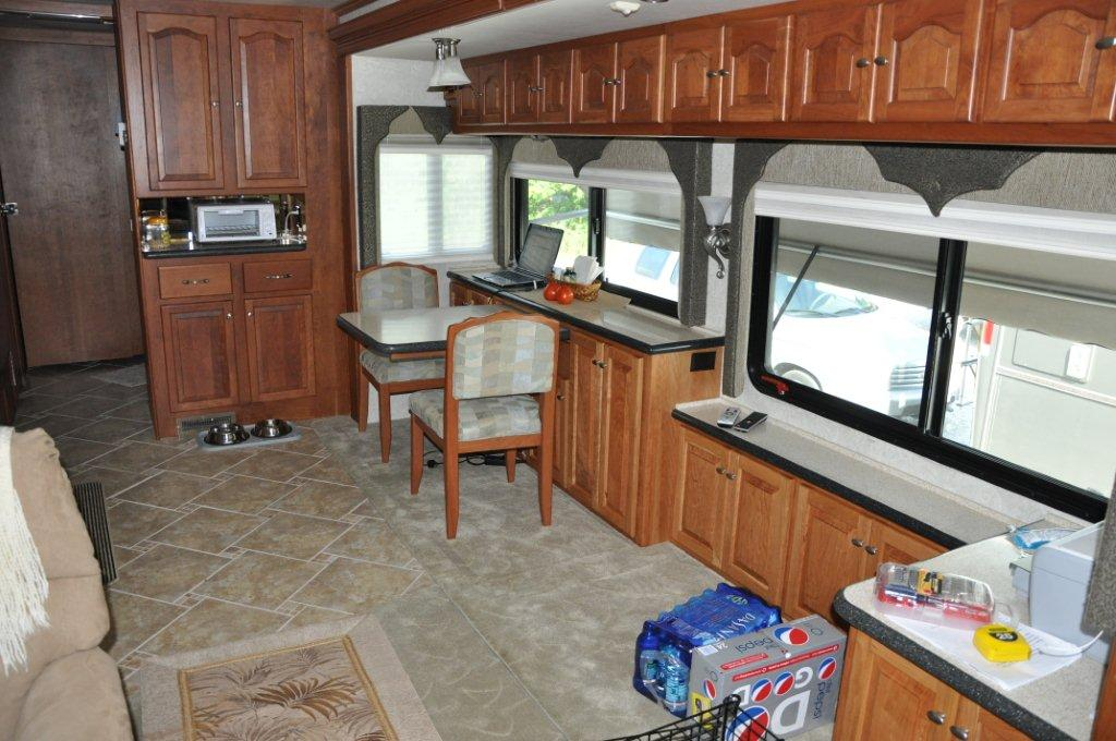 Griffin Rving Motorhome Remodel