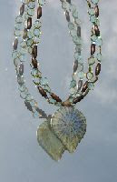 The Glamorous Bee: Julia Bristow Jewelry is Nature's Beauty :  necklace unique beading crafted
