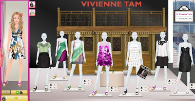 Fashion World Games  Free on Girlsgamesy Com   Games Blog For Iphone  Ipad   Android  Vivienne Tam