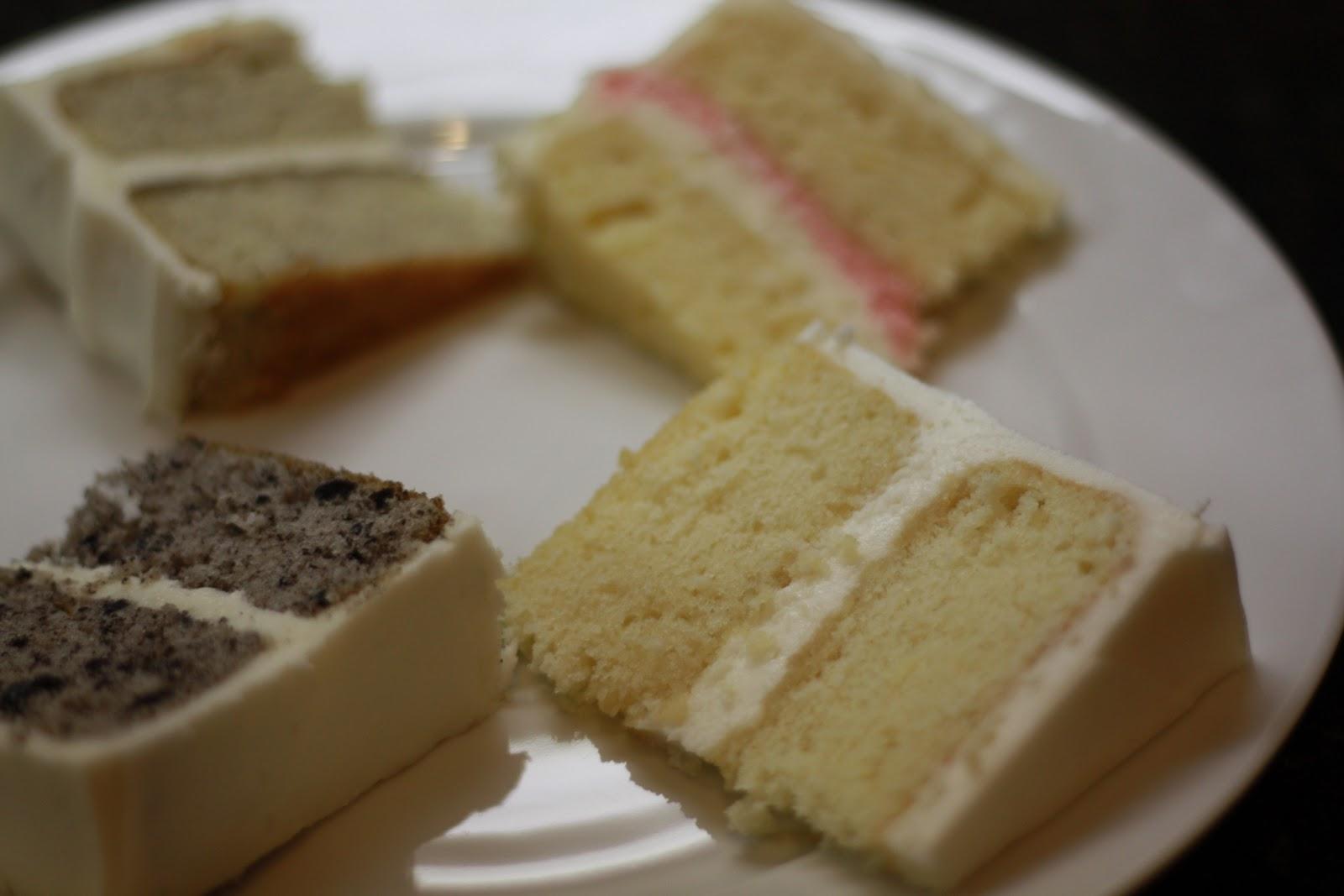Becca's Blue Bakery: End Of Wedding Cake Tastings