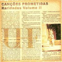 UHF – Canções Prometidas - Raridades volume 2