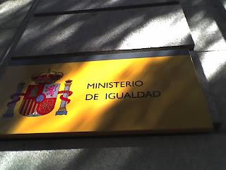 Ministerio de Igualdad Madrid Bibiana Aido