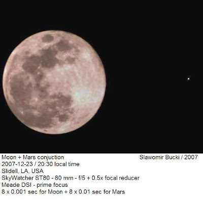 moon mars conjunction what time - photo #21