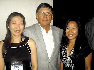 Chi-Fang Lilly Tsai, Dr. Vincent Webb and Claire Nolasco at ASC