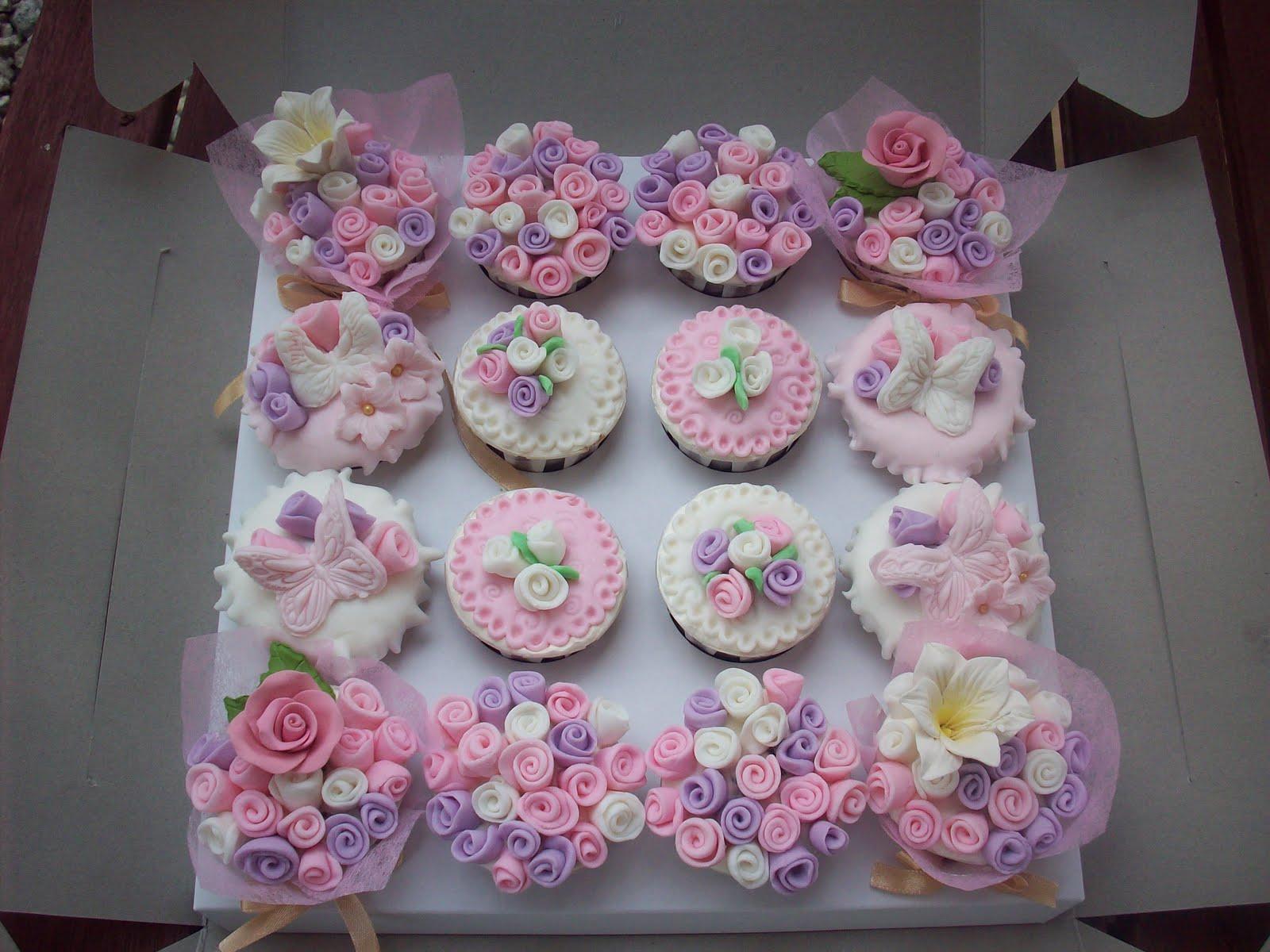 Purple Princess Cupcake Cake