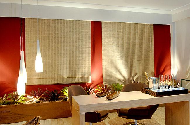 Art design decora o de casas e interiores as charmosas cortinas de bambu e madeira - Cortinas interiores casa ...
