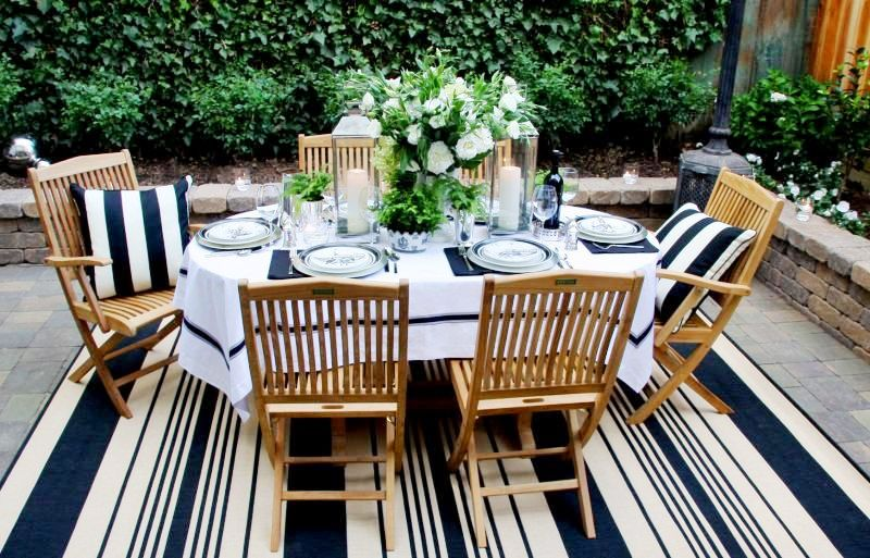 Diary of a Designer: { The Perfect Patio } on White Patio Ideas id=46672