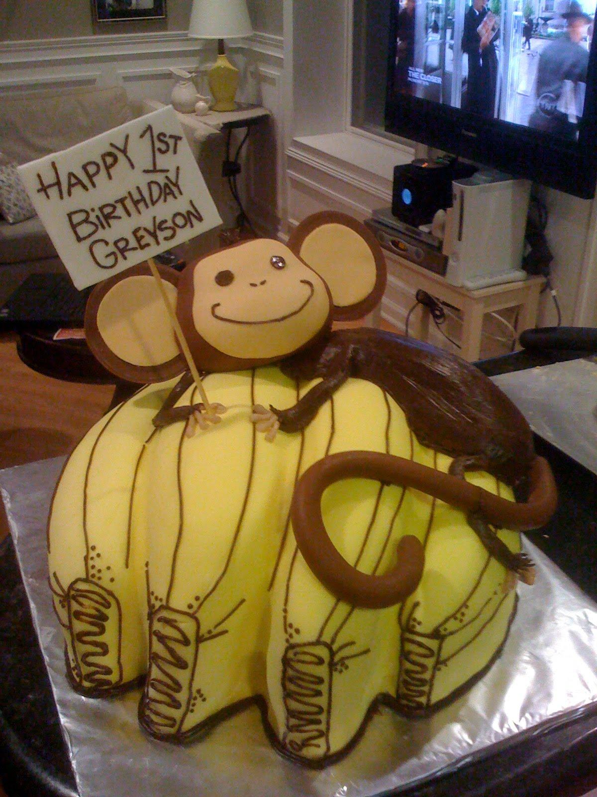Sugar Squared Cakes Monkey Banana Cake
