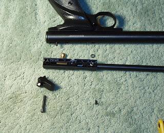 Another Airgun Blog: Derrick's 22XX Steel Breech Install