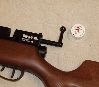 Another Airgun Blog: Benjamin Marauder Baffle Modification
