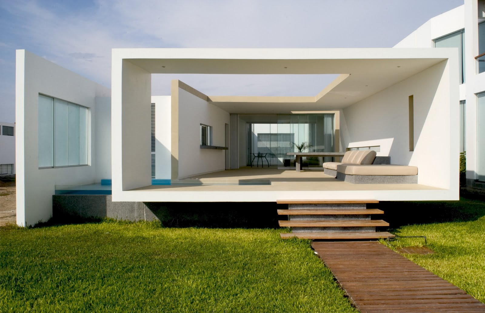 Habitar casa en playa las arenas for Design in casa