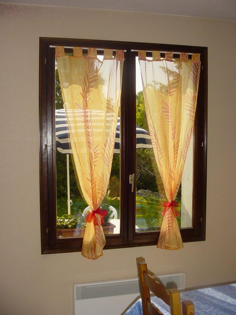 rideau cuisine beige. Black Bedroom Furniture Sets. Home Design Ideas