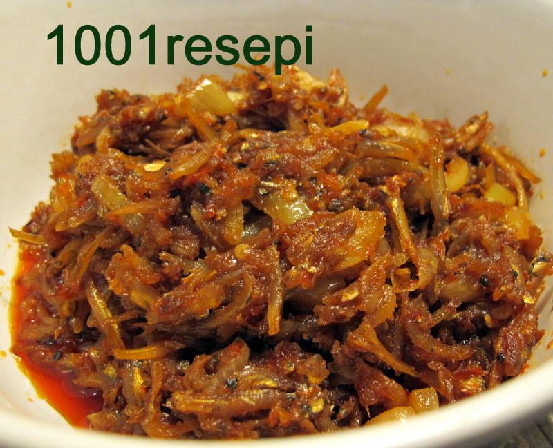 Resepi Sambal Ikan Bilis Roti Canai - Surasmi R