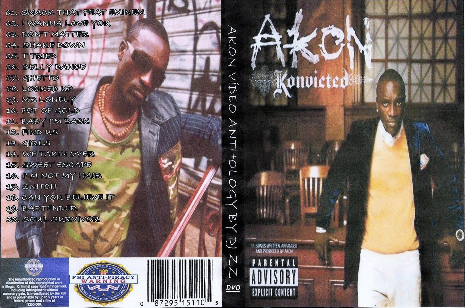 Pictures of Akon Konvicted Tracklist - #rock-cafe