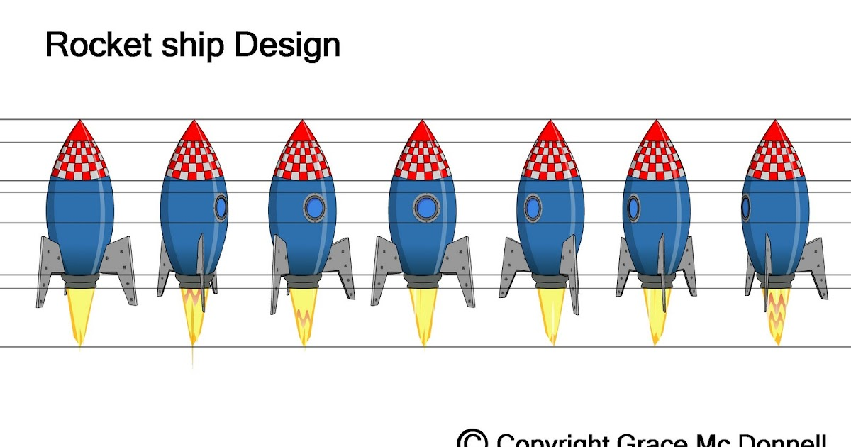 Grace Mc Donnell: Rocket Ship Design
