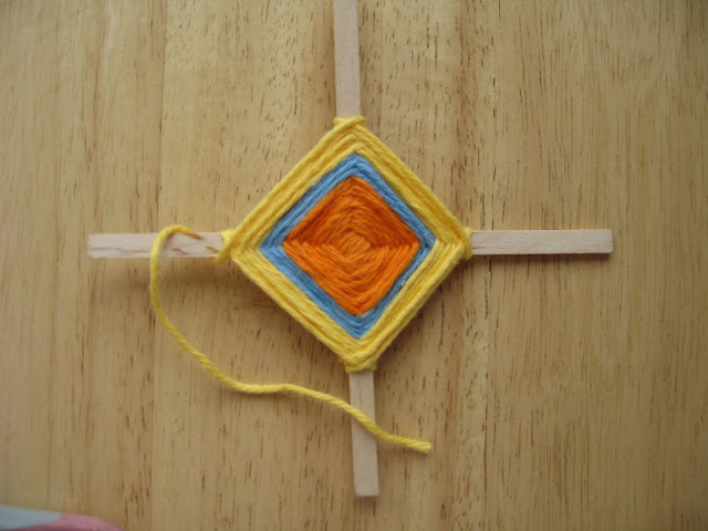 Be Brave Keep Going Ojo De Dios Or God S Eye Craft