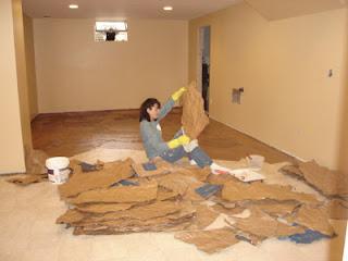 Lori Working On The Floor