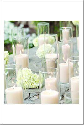 Nicoles Wedding Ideas Non Floral Centerpieces