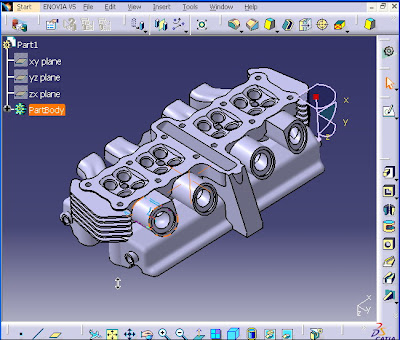Visual Tutor For Catia V5