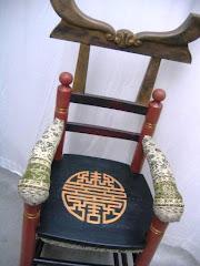 Sjou-karakter stoel