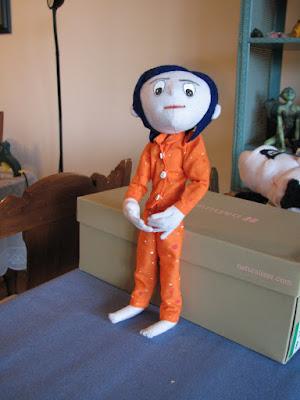 Little Bit Wired New Custom Doll Coraline