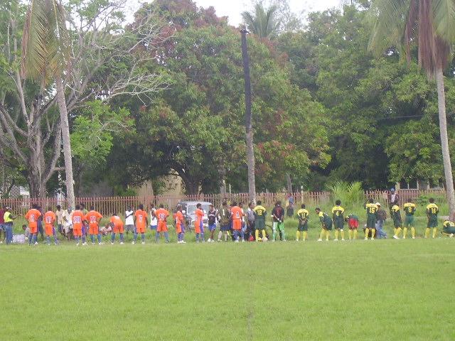 Santos FC & Eku FC 1st 11 Line Up