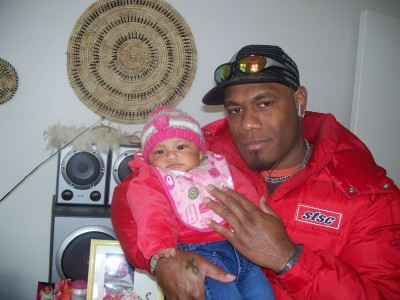 MR. JEFF ASIPARA RAHARI AND HIS BABY GIRL ATHENA