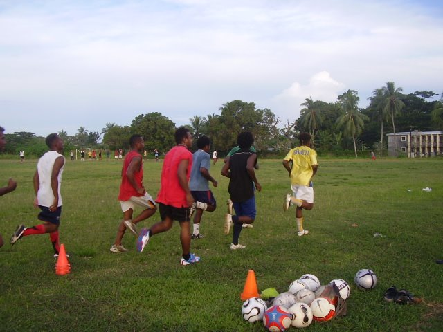 Santos FC boys resumes training