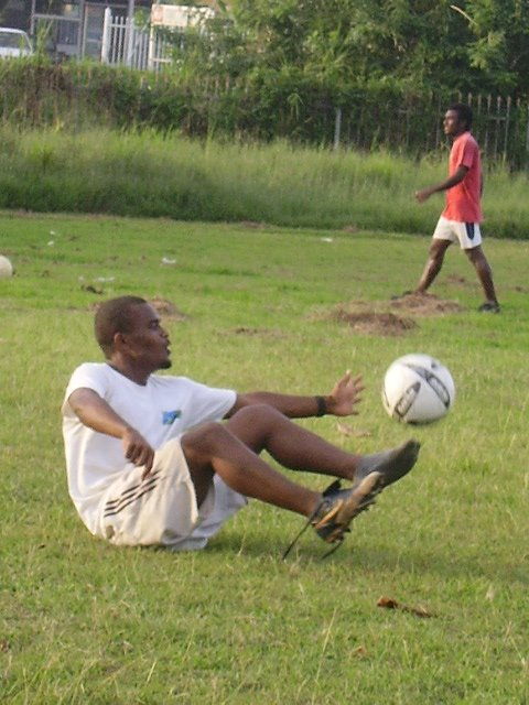 Santos FC midfield player Darwin