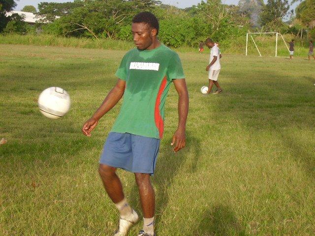 Santos FC Skipper Augustine Rukarae