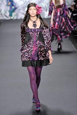 5. Hippie Look, Anna Sui, Fall 2008