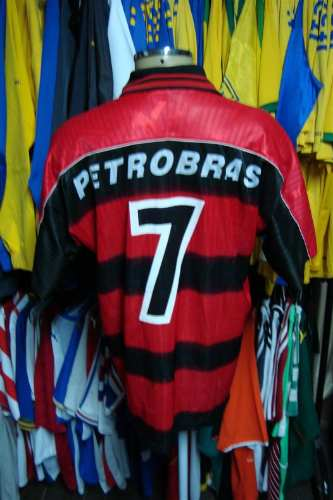 afd953511d Brechó do Futebol. Bar   Camisetas.  Flamengo 1997 Camisa Titular De ...