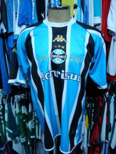 16f9ad5e21 Brechó do Futebol. Bar   Camisetas.  Grêmio 2003 Camisa Titular ...