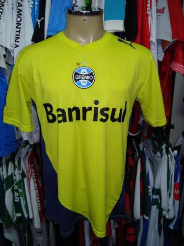 Brechó do Futebol. Bar   Camisetas.  Grêmio 2006 Camisa Amarela De ... a525d2ea706ba