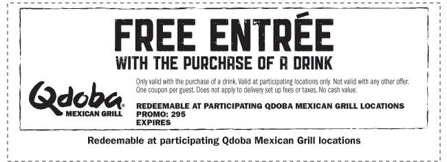 FREE Qdoba Entre : CalPolyPomona
